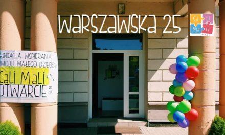 Drzwi otwarte na Warszawskiej 25!