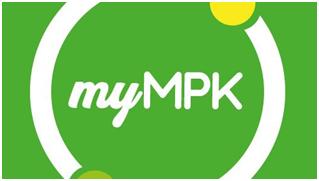 Aplikacja myMPK bez barier