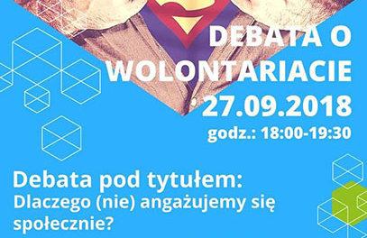 Debata o wolontariacie