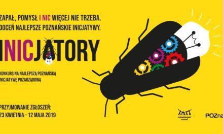 INICJATORY – doceń najlepsze poznańskie inicjatywy