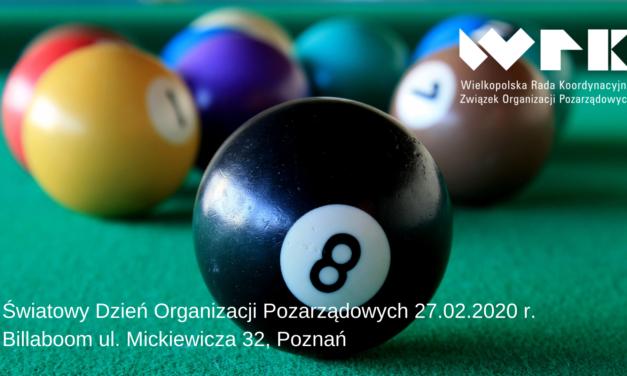 27.02.2020 – Świętujemy Światowy Dzień Organizacji Pozarządowych!