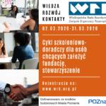 Cykl szkoleniowo-doradczy dla osób chcących założyć organizację pozarządową