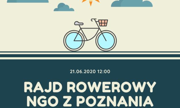 NGO-sowy rajd rowerowy i piknik nad Wartą 21.06.2020 r.
